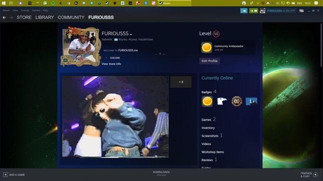Steam аккаунт+Faceit+Cybershoke Lite+Prime CS:GO(6500)и скины каспи