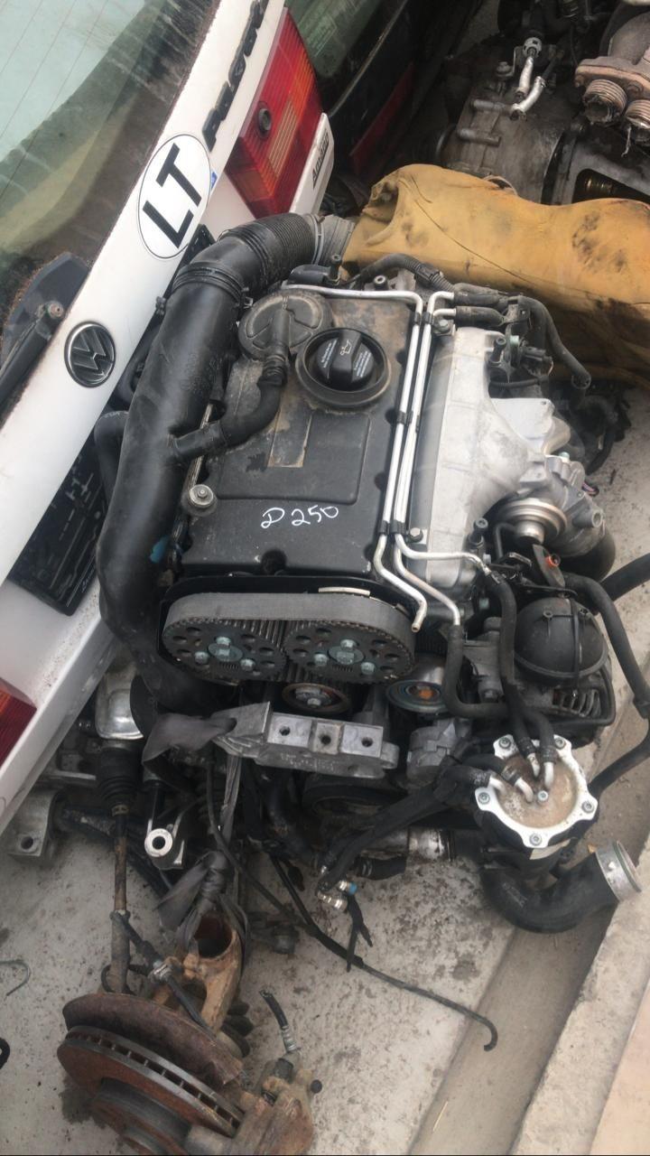 Контрактный мотор и агрегаты на фольксваген туран 1.9-2.0турбо дизель