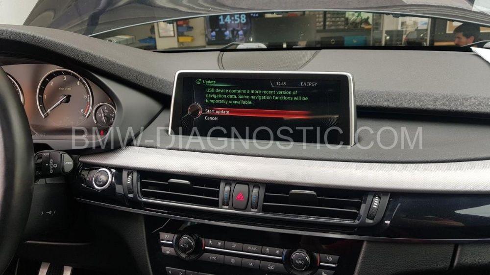Карти 2021г CIC NBT навигация BMW F07 F10 F12 F01 F30 F15 F25 X3 X5 X6