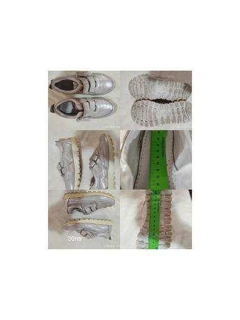 Много запазени детски обувки Ponki за момиче.Естествена кожа.