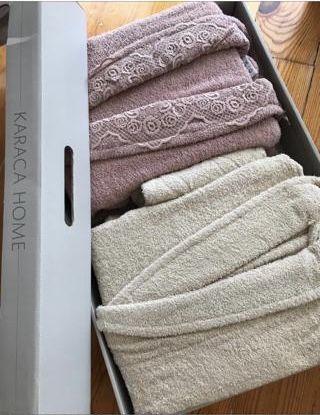 семейный банный набор халат