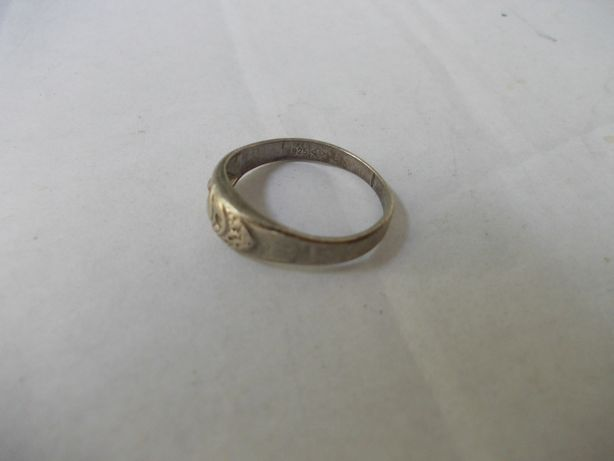 Inel vechi din argint (3)