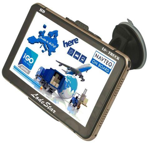 """Navigator GPS 7""""HD Bonus:PARASOLAR harti 2020 setari pentru TIR/Camion"""