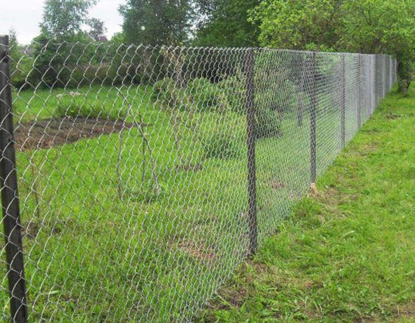 Забор сетка рабица эконом 9000тг