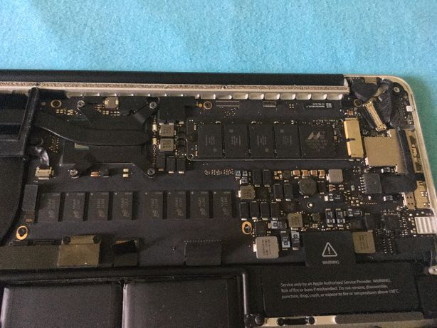 "placa de baza macbook pro retina 13"" late 2013 - mid 2014, a1502, i5"