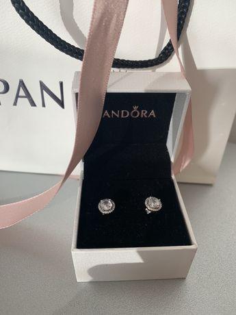Сребърни обеци Пандора
