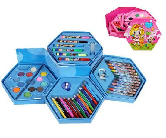 ПРОМО! Комплект за рисуване и оцветяване - учебни пособия
