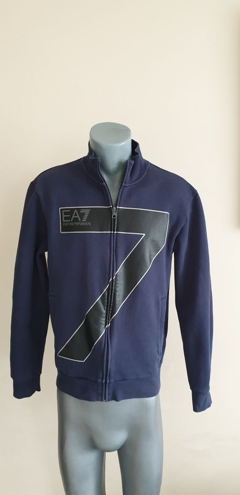 Emporio Armani EA7 Full Zip Mens Size S/M ОРИГИНАЛ! Мъжко Горнище