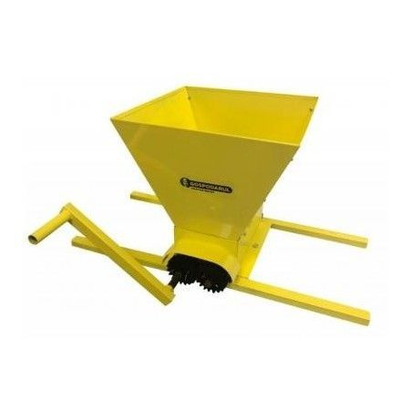 Zdrobitor de struguri manual, Volum cuva: 20 L, 350-500kg/h