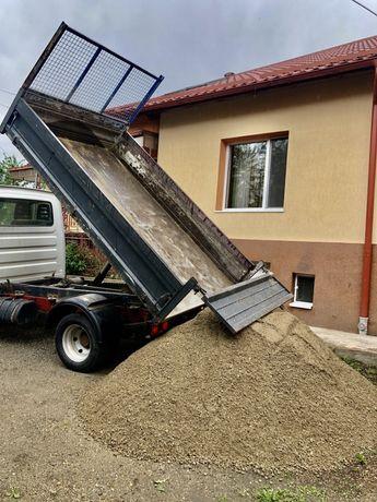 Transport marfa cu basculabila 3.5t ,nisip,pietris,balast,sort, piatra