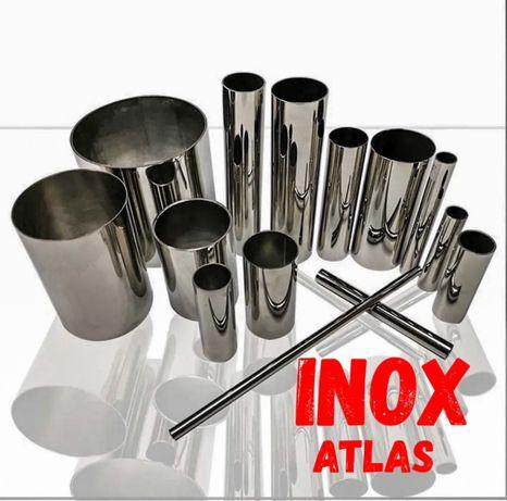 Teava inox balustrade  accesorii inox