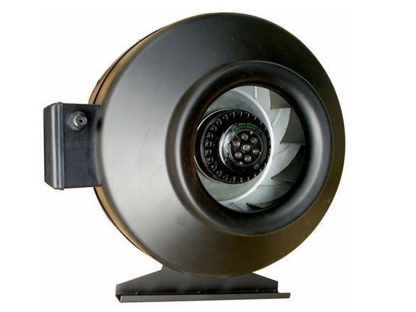 Канален Турбинен вентилатор в метален корпус с турбинна перка