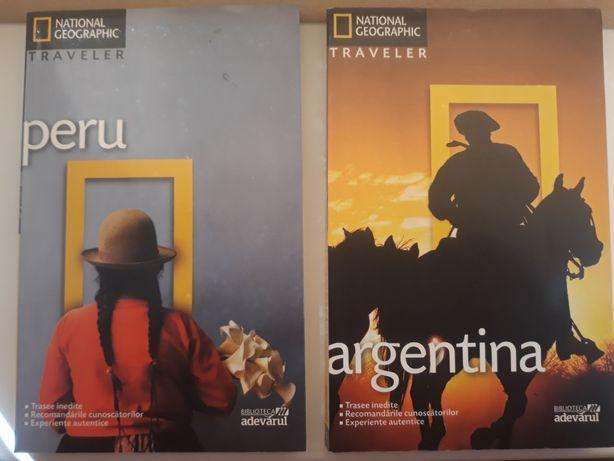 Peru,Argentina -cărți National Geographic