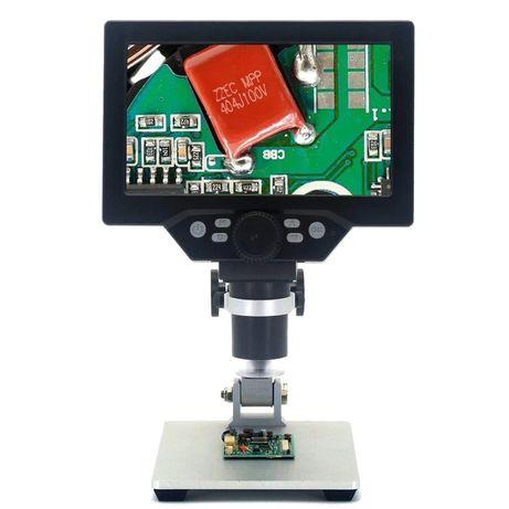Дигитален микроскоп MUSTOOL G 1200X/HDR/1080FHD/12MP/LED/3000mAh