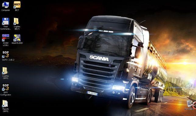 SSD 240Gb Scania SDP-3 v2.48.3 & XCOM v2.30 & Scania Multi v05.2020