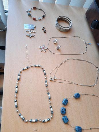 Колие/медальон/гердан/гривна седеф/висулка кръст/обеци/с камъни