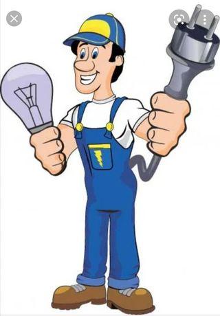 Electrician, reparatii/intervenții, montaje electrice