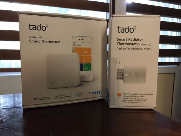 Kit TADO Smart Thermostat termostat inteligent + cap calorifer Tado