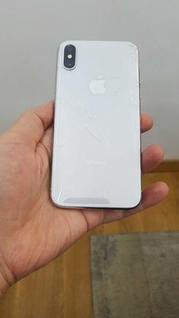 Iphone X с icloud/ТОП ЦЕНА/ЗА ЧАСТИ/камера/микрофон/батерия/платка/