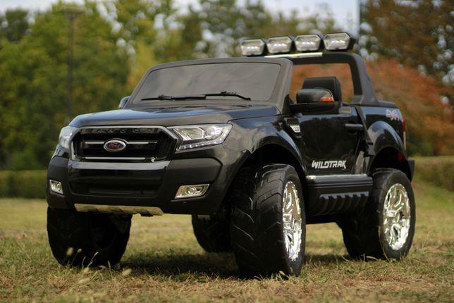 Masinuta electrica 4x4 Ford Ranger 180W cu LCD, Mp4 , 12V 14Ah #Negru
