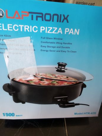 Electric pizza pan