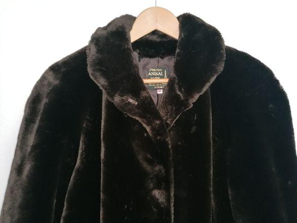 Класическо, стилно дамско палто Aniral France размер 42