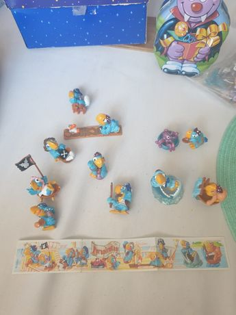 Papagalii ferrero kinder full set complet
