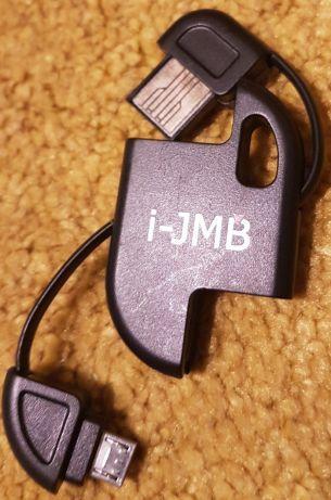Cablu de incarcare tip breloc USB-MicroSD