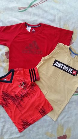 Nike, Adidas оригинални детски тениски.