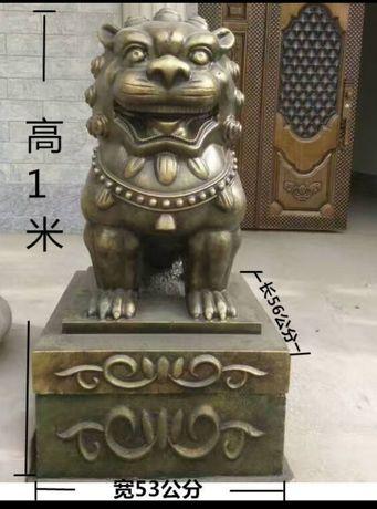 Matriță leu și dragon