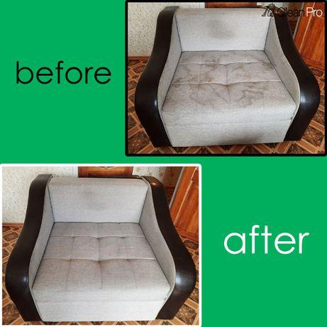Химчистка Ковров/чистка мягкой мебели на выезд/матраса/дивана/уборка