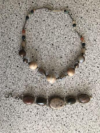 Комплект бижута естествени камъни