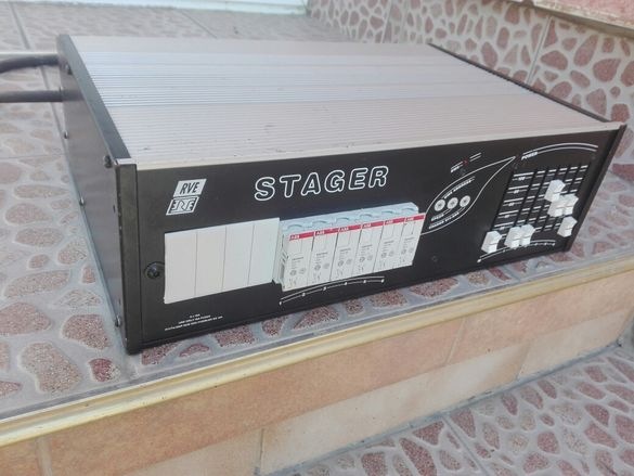 Stager DMX512 6x2.3kwЗахранване за светлинни ефекти
