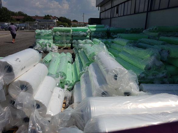 Найлон зеленикав прозрачен УВ стабилизиран 120 микрна