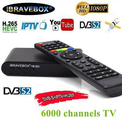 Receicer satelit iBRAVEBOX V8 HD DVB-S2 Full HD rulota, camion, etc..