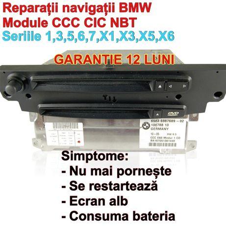 Navigatii Reparatie iDrive CCC pentru BMW Mini Cooper 1 an garantie