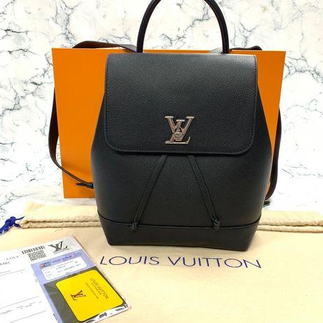 Уникална раница Louis Vuitton LockMe ,100% естествена кожа в 6 цвята