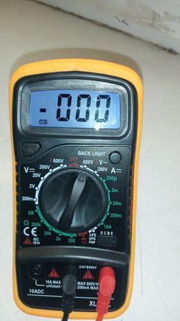 Мультиметр -тестор новый