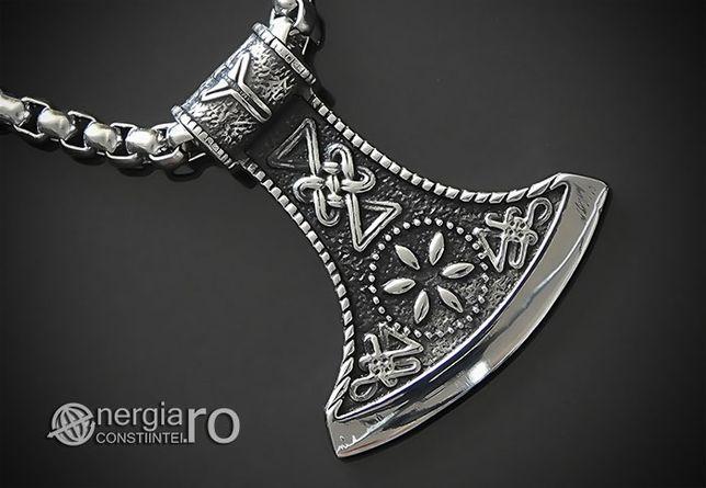 Pandant Amuleta Talisman Pandantiv Ciocanul lui Thor INOX - cod PND150