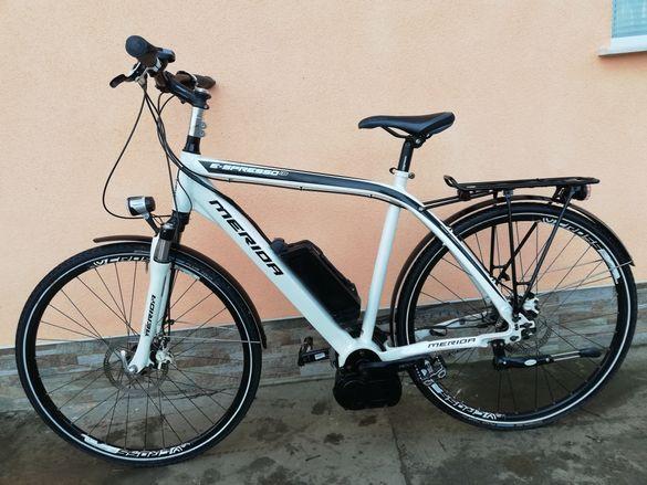 MERIDA E-SPRESSO i8 ЕЛЕКТРИЧЕСКИ Алуминиев Велосипед 28цола 8 скорости