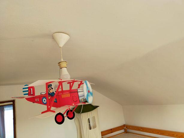Avion - Corp iluminat cameră copii