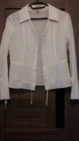Белые рубашки , блузки для девочек в школу