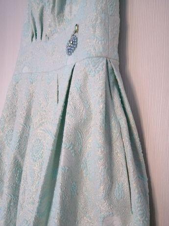 Rochie de ocazie verde menta