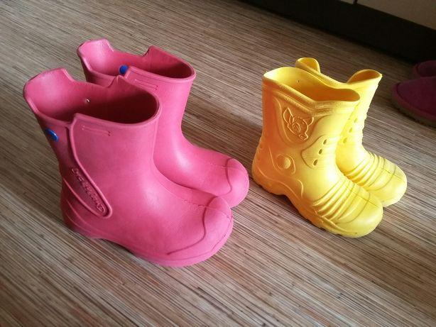 Резиновые сапоги. Обувь.