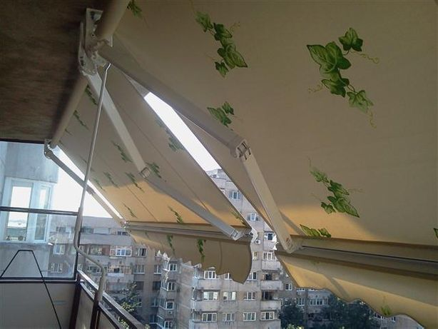 Copertină retractabilă, copertină balcon, ALBA