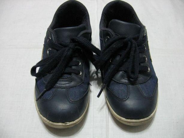 кроссовки детские,синего цвета, размер-32
