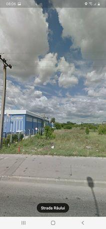 teren intravilan ,str raului , zona industriala
