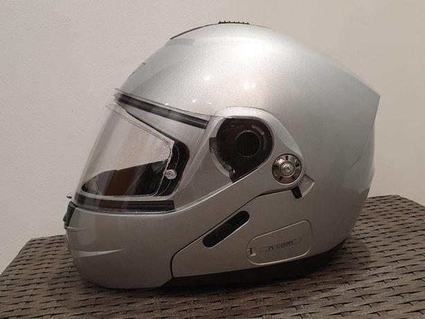 Casca moto Nolan N91, marime S - flip-up, ochelari de soare