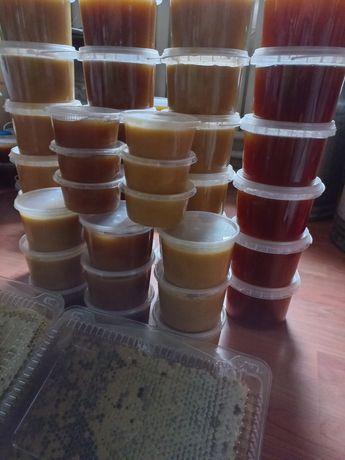 Продам натуральный мёд с собственной пасеки
