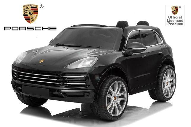 Masinuta electrica Kinderauto Posche Cayenne XXL PREMIUM #Negru